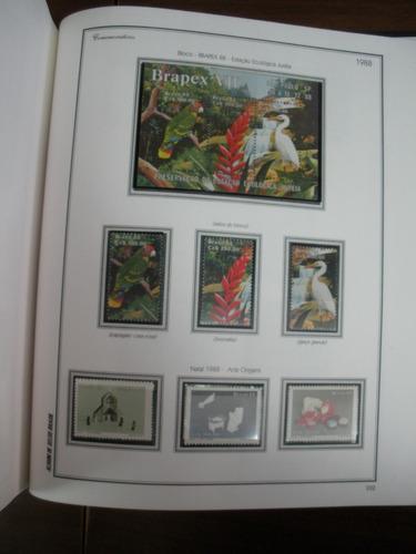 @ brasil. mais/1000 selos e blocos de1971/90 novos em hawid@