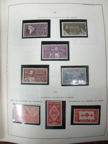 @ brasil. mais/1450 selos/bls ( n/nn). 1900/81+ r$25.000,00@