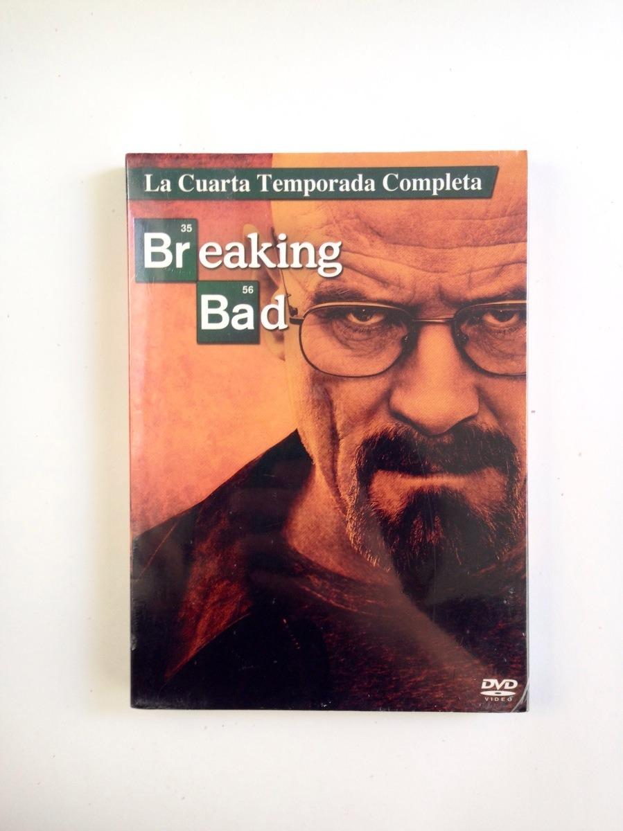 Breaking Bad Cuarta Temporada Dvd Nueva + - $ 239.00 en Mercado Libre