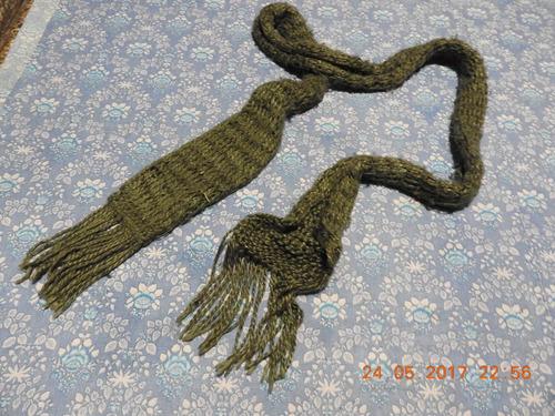 # bufanda tejida a mano