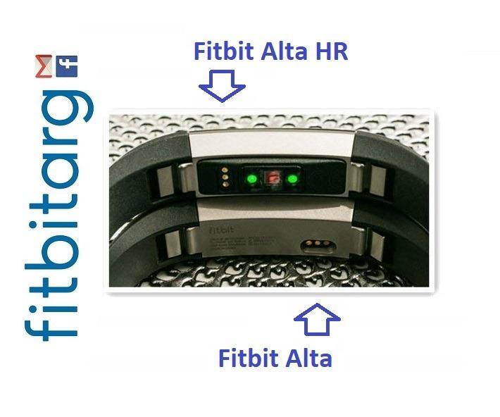 ¡¡¡ Cable Cargador Usb De Fitbit Alta Hr Con Botón Reset !!!