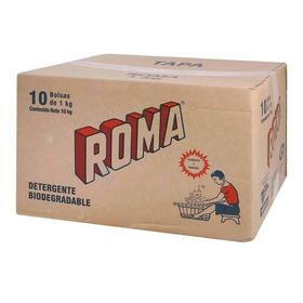 Caja De Jabon Roma 10 Bolsas De 1 Kilo
