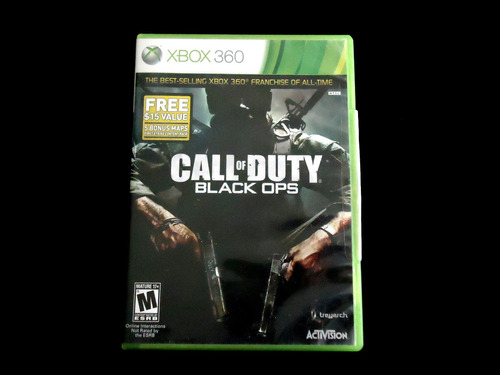 ¡¡¡ call of duty black ops para xbox 360 !!!