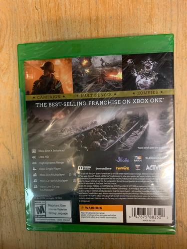 ..:: call of duty ww2 gold edition ::.. para  xbox one gcd