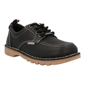 Calzadozapatos Niña Hush Puppies Spring Negro Colegio