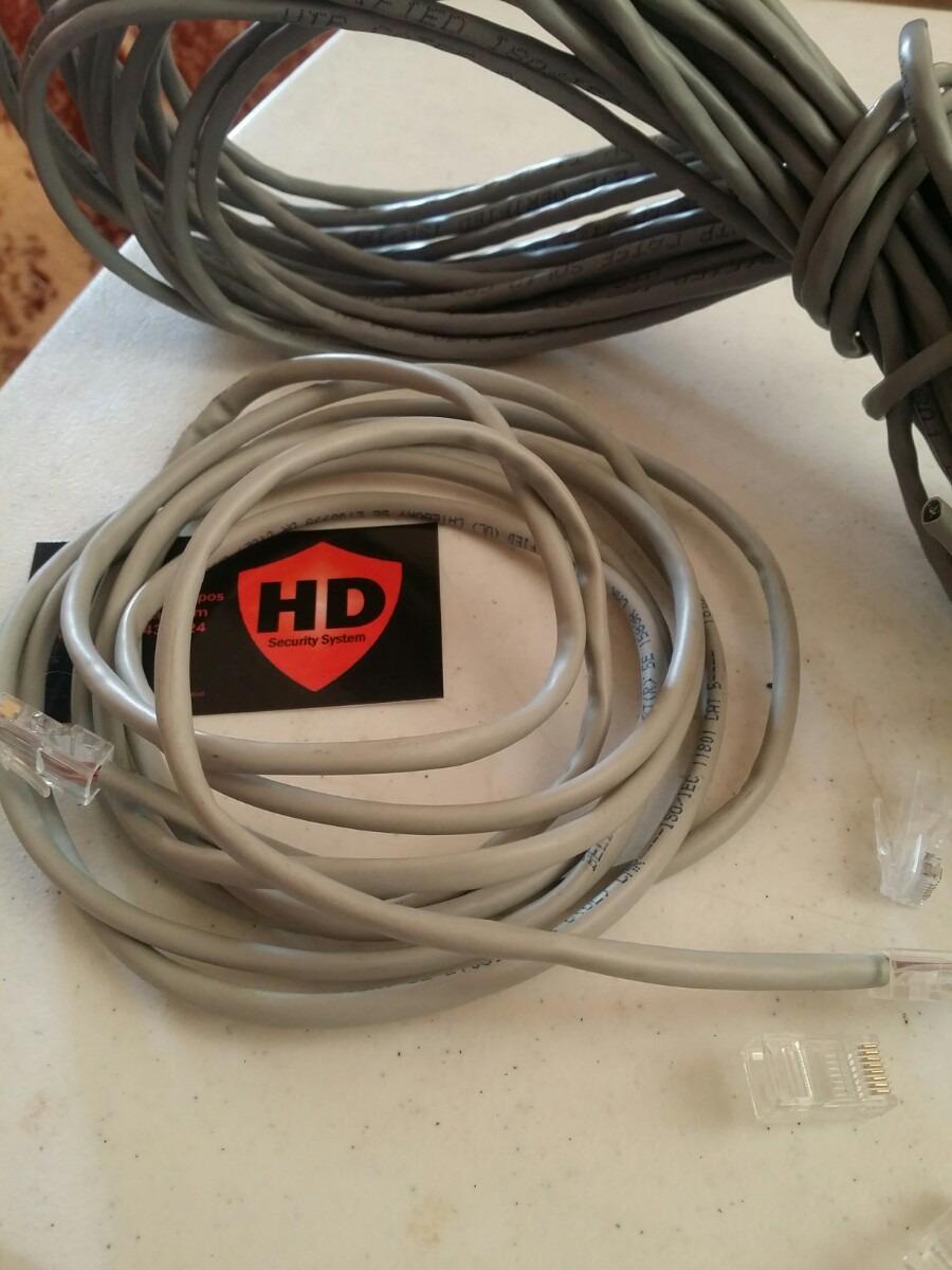 Camaras Cctv Cable Utp Pre Ponchado 20mts 30mts Y M 225 S