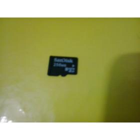 Cartão De Memória 256 Mb