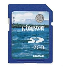 Cartão De Memória Sd Secure Digital 2gb / Hp 50g / R022 K