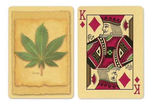 ¡ cartas bicycle hoja hemp playing card baraja de poker !!