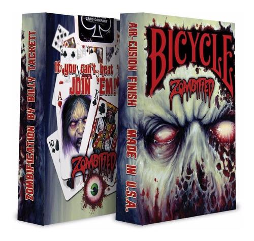¡ cartas bicycle zombified deck playing cards baraja new !!