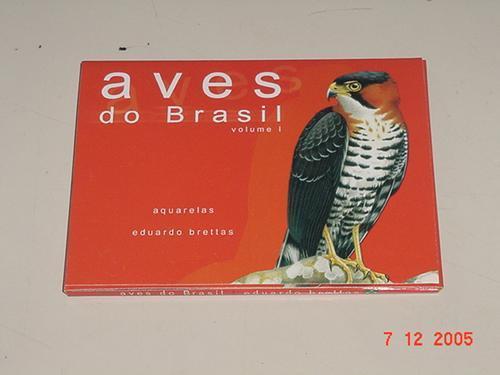 * cartões postais com gravuras de 10 pássaros diferentes *