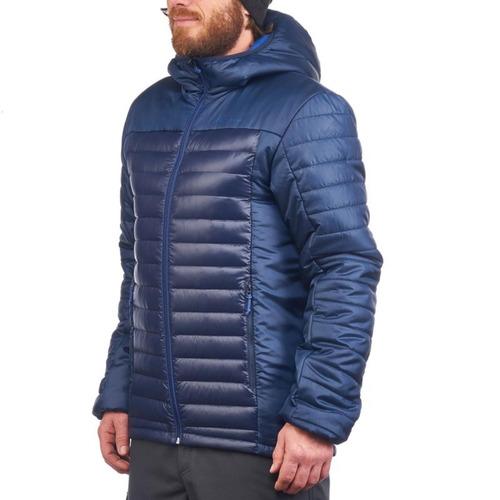 ® casaca de plumas quechua x light hombre azul solo talla s