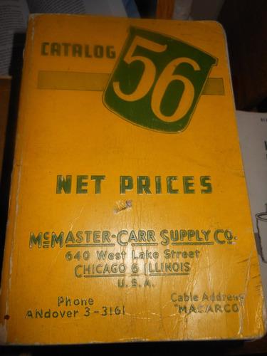 * catalogo nº 56    mc master -carr supply co.