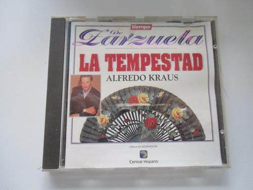 + cd de la zarzuela la tempestad original importado