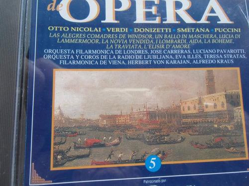 + cd de opera smetana, verdi y otros etc. original