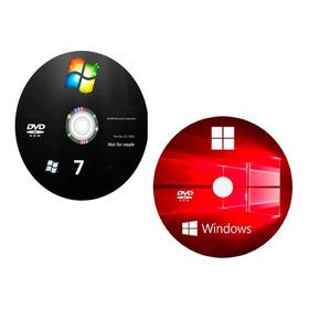 Cd Do Windows 10 E 7 + Pacotao De Drivers + Office 16