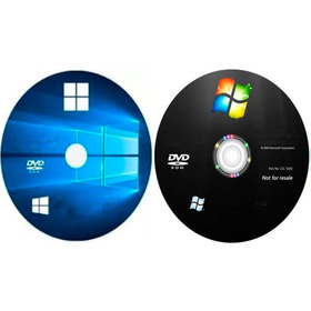 Cd Do Windows 7 E 10 + Drivers + Pacote Office 16