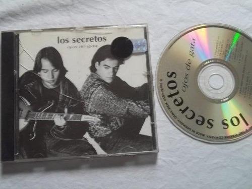 * cd - los secretos - rock pop internacional