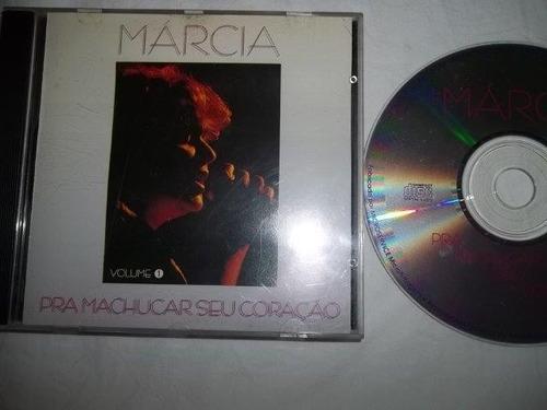 * cd - marcia - pra machucar seu coração - mpb cantoras