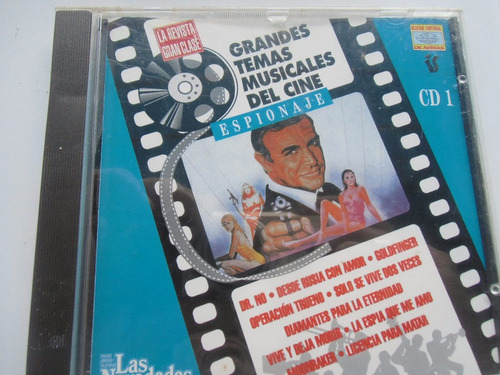 + cd música de cine espionaje. original made in spain