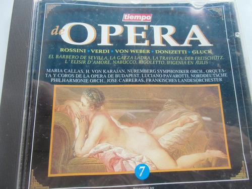 + cd original de opera rossini, von weber verdi y otros