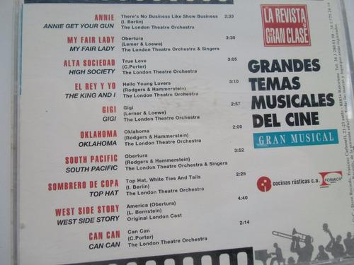 + cd original made in spain de cine gran musical