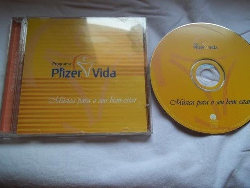 * cd - pfizer vida - musica para o seu bem estar