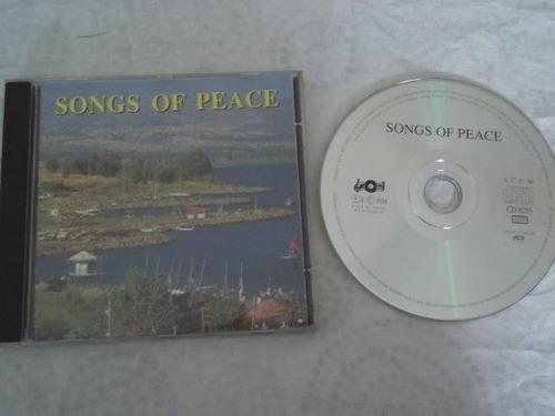 * cd - songs of peace - jazz