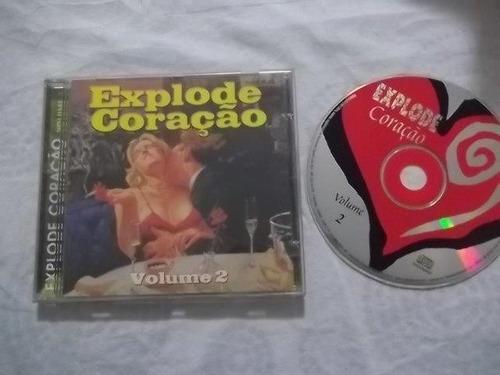 * cds - explode coração vol.2 -  rock pop internacional