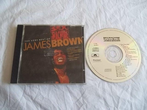 * cds - james brown - rock classico
