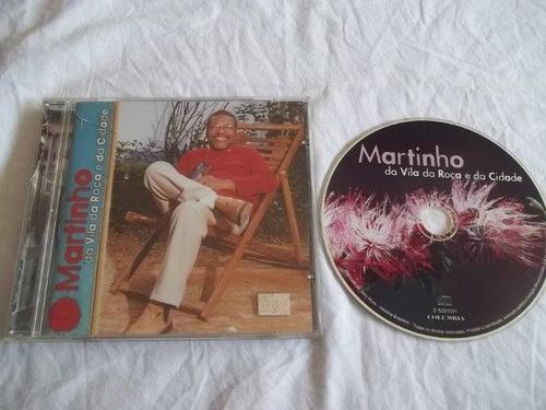 * cds - martinho da vila da roça e da cidade - samba