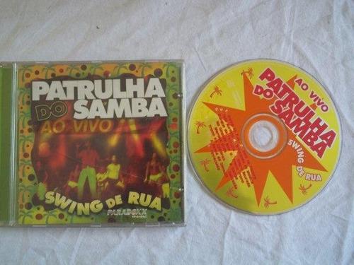 * cds - patrulha do samba - swing de rua - samba
