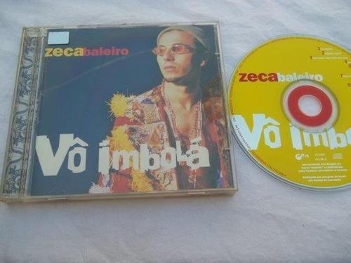 * cds - zeca baleiro - vô imbolá - mpb cantor