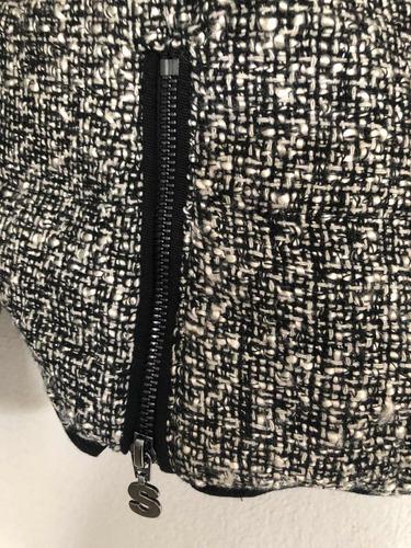 & chaqueta desigual gris nueva con envío