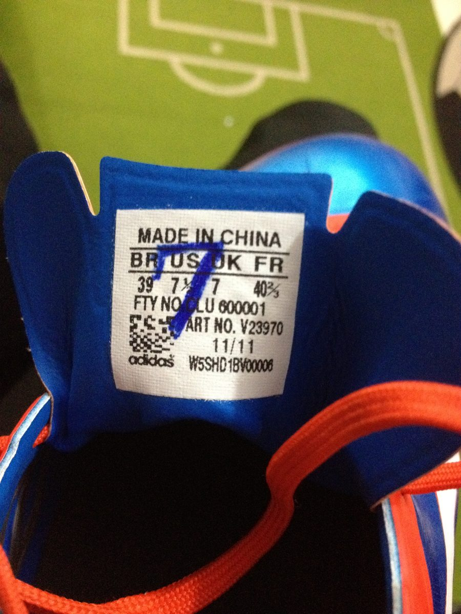 chuteira adidas f50 - usada em jogo - lucas  . Carregando zoom. 515bb52275782