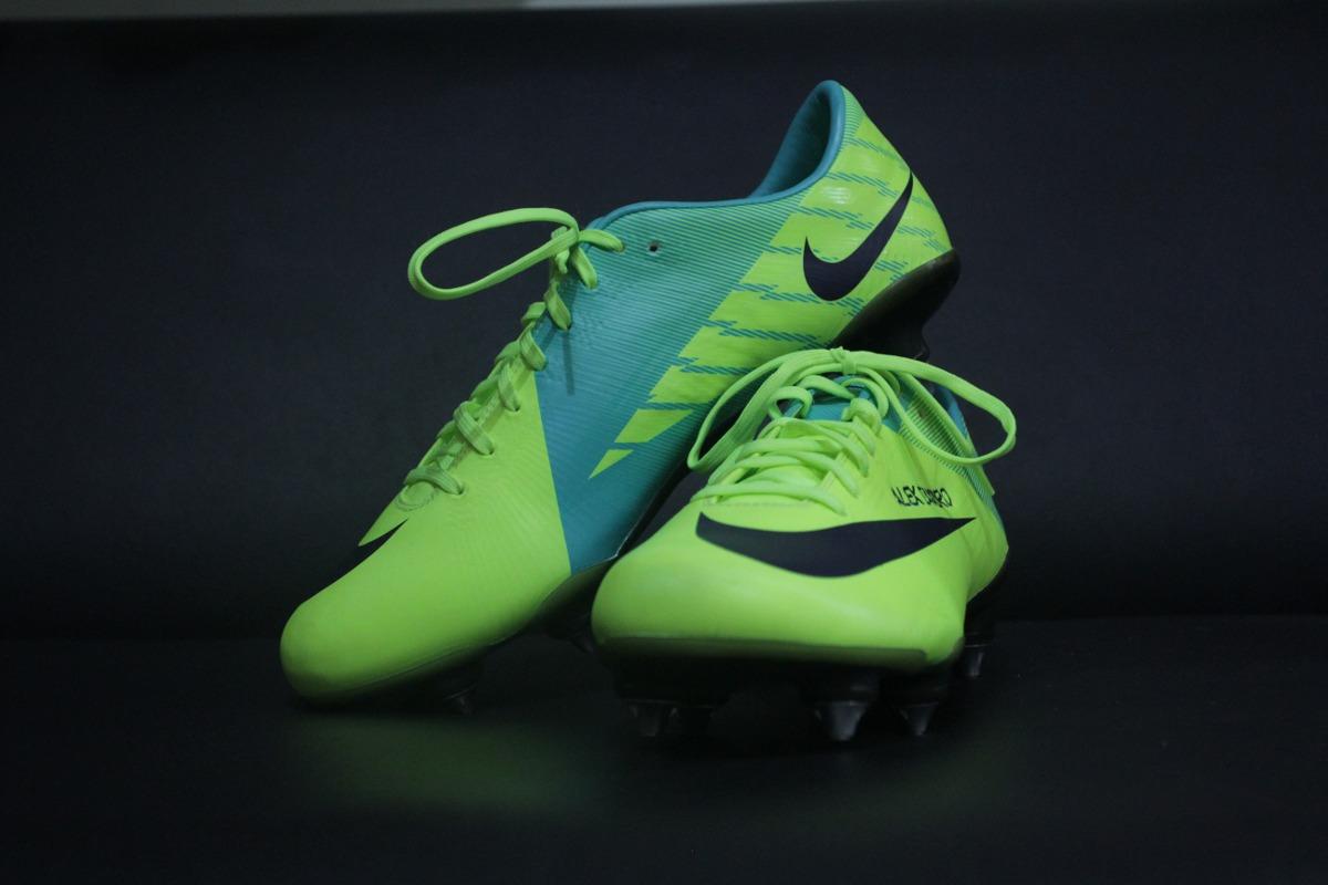 Chuteira Nike Mercurial - Usada Em Jogo - Alex Sandro   - R  1.000 ... bf9f926dc948f