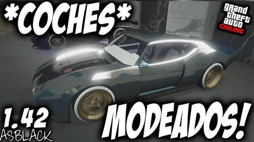 !! coches modeados!! xbox one gta v online