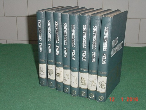 * coleção - novas curiosidades - 8 volumes - ano: 1964 *