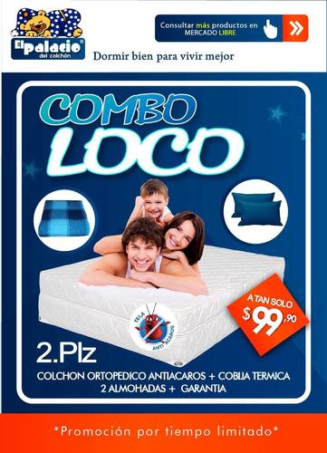 !!! combo !!! colchon antia-caros 2 plazas !!! combo !!!