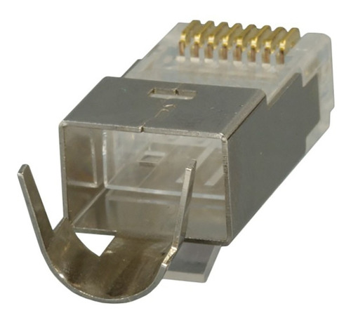 ¡ conector rj45 cat 6a ftp powest (paq x10) nicomar !!