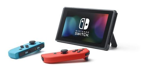 ® consola nintendo switch neon/ gris nuevo + 5 juegos msi