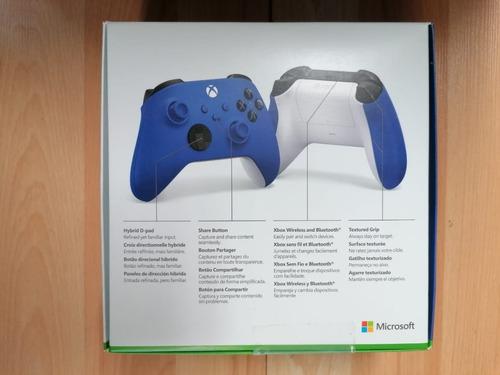 ..:: control xbox one series x shock blue ::.. gamecenter