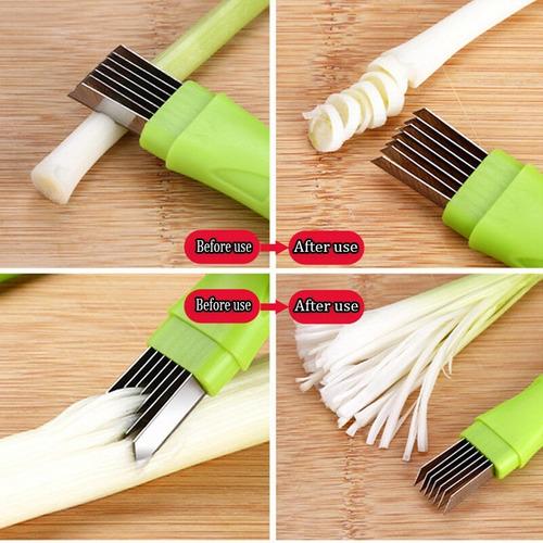¡ cortador picador de cebolla tirillas perfectas corta !