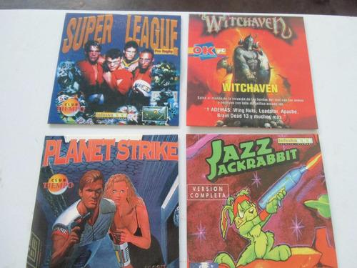 + cuatro discos de juegos en cd. cuarto grupo