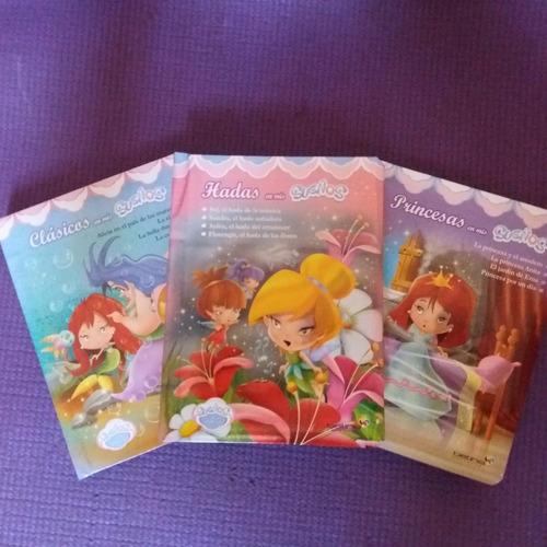 ** cuentos para niñas ** 3 libros sueños de fantasia