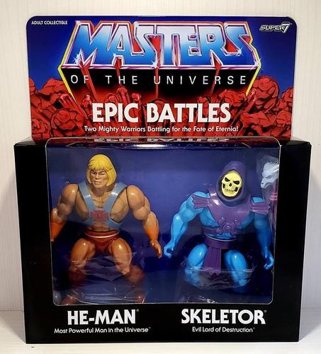 --- culpatoys he-man y skeletor vintage motuc los amos ---