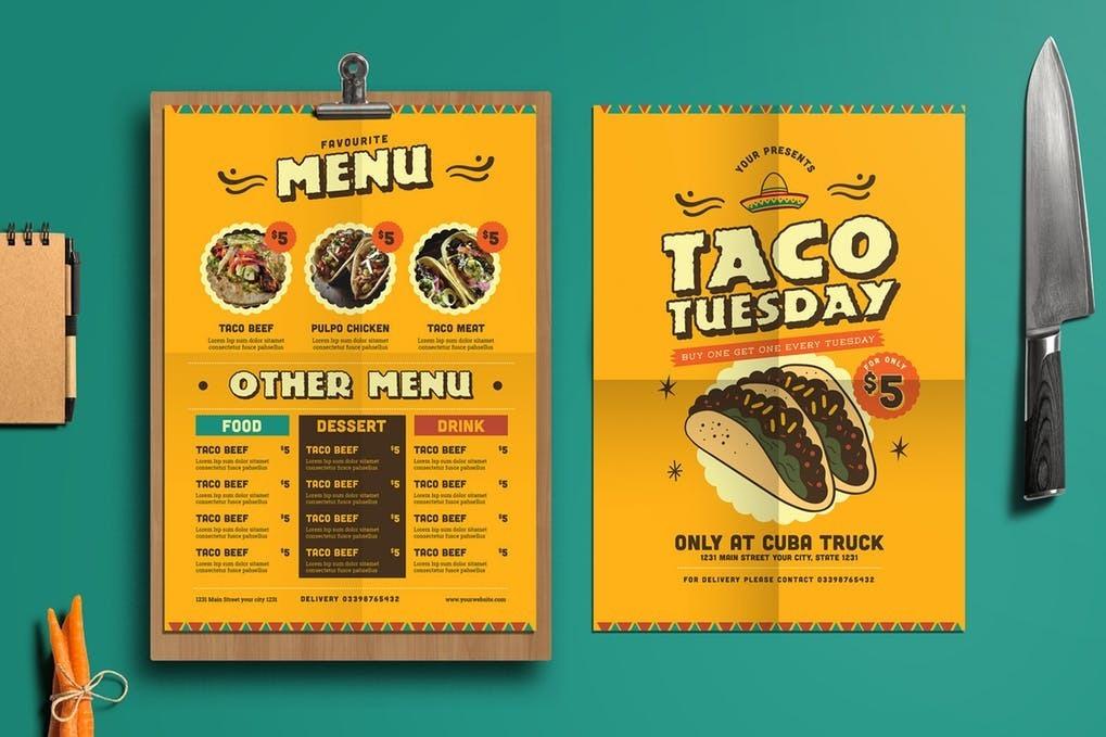 De 100 Plantillas Diseño Para Tu Restaurant, Cartas... - S/ 25,00 en ...