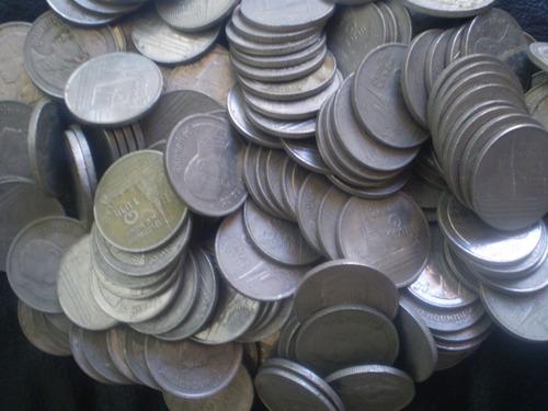 + de 180 monedas de 1 bat  tahilandia(a4