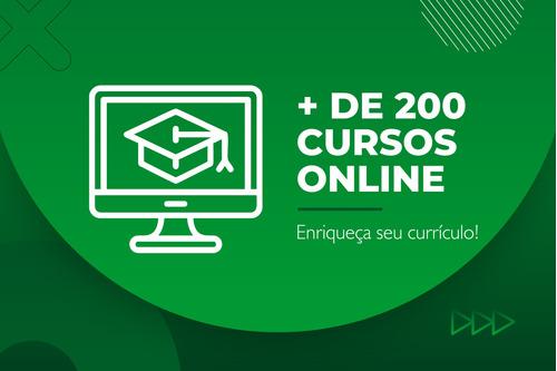 + de 200 cursos virtuais | certificado na hora!