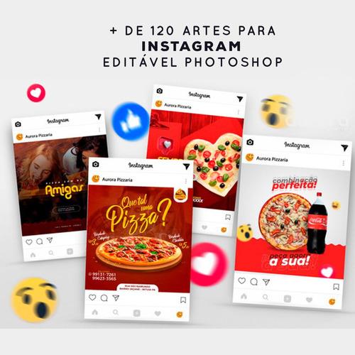 + de 3.500 artes para instagram editável em photoshop+ aula.